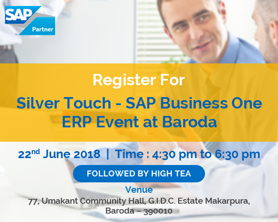 Silver Touch SAP Business One ERP Event