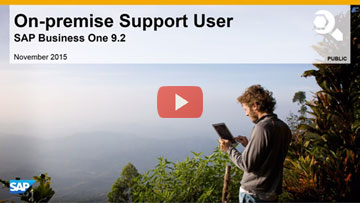 On-premise Support User