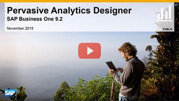 Pervasive Analytics Designer