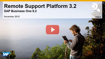 Remote Support Platform 3.2