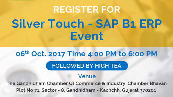 Silver Touch – SAP Business One ERP Event at Gandhidham
